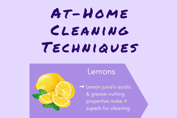 Infographic: At-Home Cleaning Techniques
